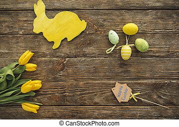 rośliny, święto, deska, ozdoby