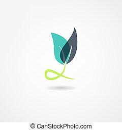 rośliny, ikona