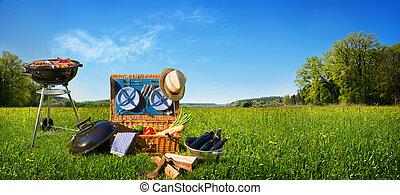 rożen, piknik