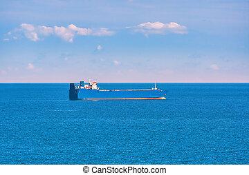 Ro-Ro Cargo Ship in the Black Sea
