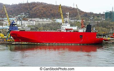 Ro-ro freight ship