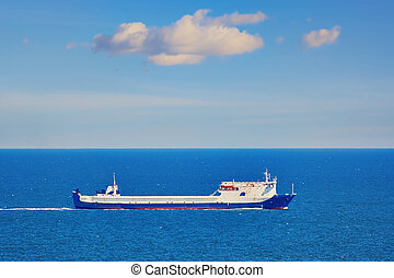 Ro-ro Ship in the Black Sea