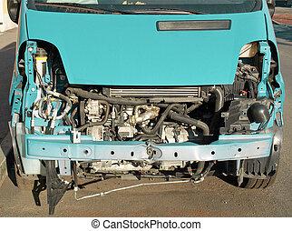 Road accident car
