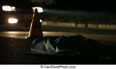 Road Accident Victim