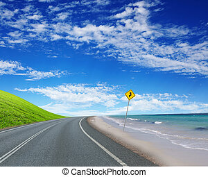 road and horizon