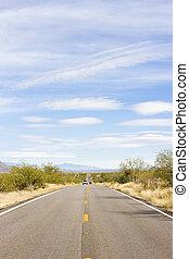 road, Arizona, USA
