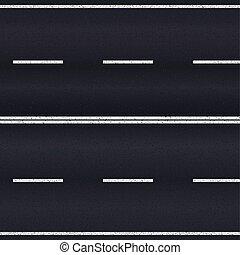 road., asfalt