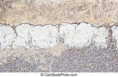 Road asphalt texture with  line