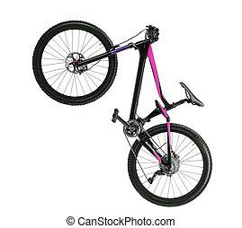 road bike isolated
