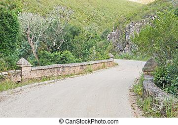Road bridge in the Montagu Pass