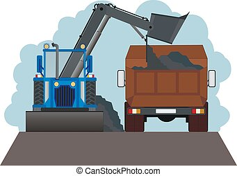Road-building machinery