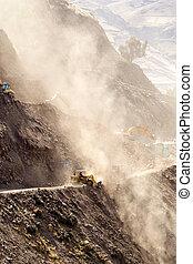 Road Building Vertical - Road Building In Ecuadorian Andes ...