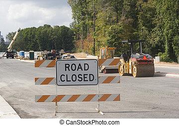 Road Closed New Bridge