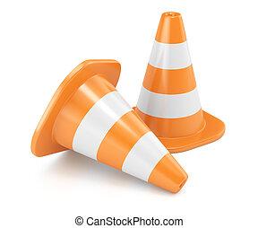Road cones