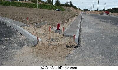 road construction car