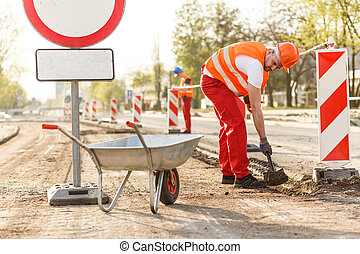 Road construction contractor