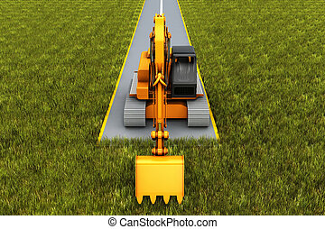 Road construction