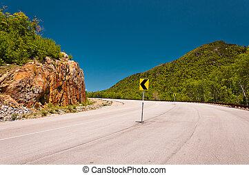 road corner