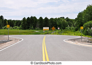 Road Dead End