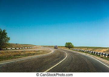 road dividing line