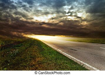 road field