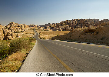 Road from Petra, Jordan