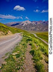 Road in Kyrgyzstan