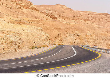 Mountains in the Desert of Negev