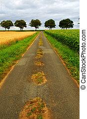 Road in rural France