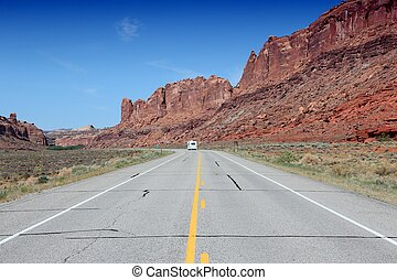 Road in United States