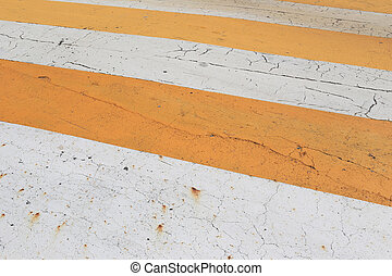 road is orange and white color background so be careful to use.
