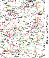 Road Map - Hi-Res Road Map
