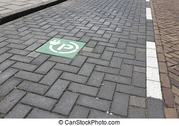 charging point for electric vehicles