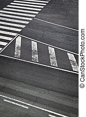 Road Marks in Airport Runway