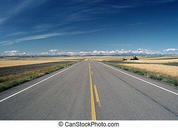 Road, Montana