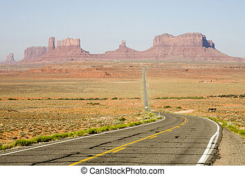 Road, Monument Valley