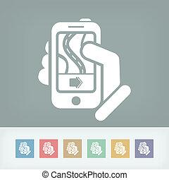 Road navigator smartphone concept