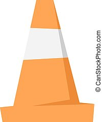 Road repair sign vector illustration.