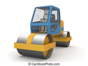 Road roller - Workers collection