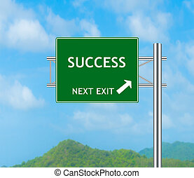 Road Sign concept to Success