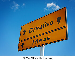 Road sign creative ideas.