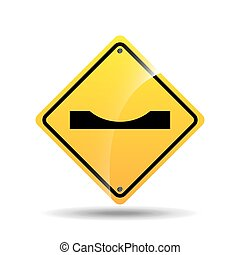 road sign warning icon