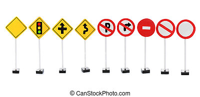 road sign with empty space for your design