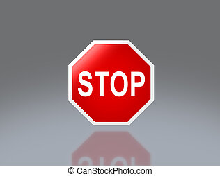 road signage direction stop - the notice of traffic sign for...