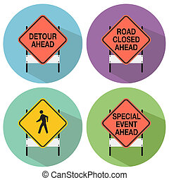 Road Signs - An image of road signs.
