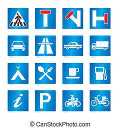 road signs (vector)
