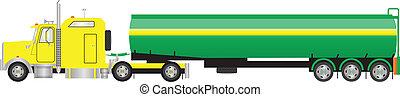 Road Tanker Semi Trailer