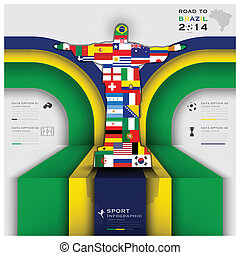 Road To Brazil 2014 Football Tournament