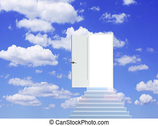 Conceptual image - road to dream