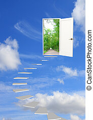 Road to dream - Conceptual image - road to dream